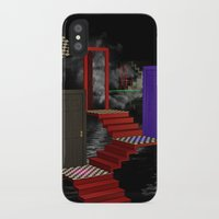 nightmare iPhone & iPod Cases featuring nightmare by Ancello