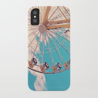 ferris wheel iPhone & iPod Cases featuring Ferris Wheel by Katie_Photography