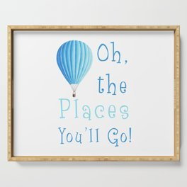 Oh The Places You'll Go Serving Tray