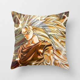 Goku SSj3 Throw Pillow
