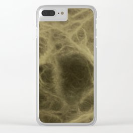 Forms of light and shadow that simulates the bone tissue. Abstract background to be used by designer Clear iPhone Case