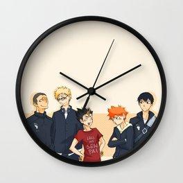 lil crows~ Wall Clock