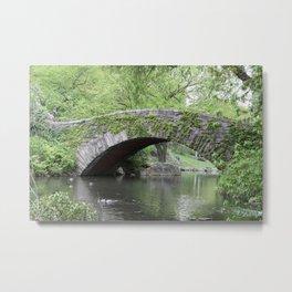 Gapstow Bridge  NYC Metal Print