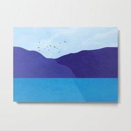Sea poster Metal Print