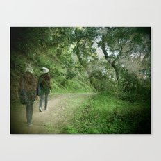 Forest Walks Canvas Print