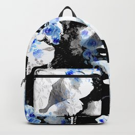 LADY AND ORCHIDS Backpack
