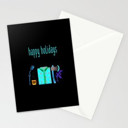 Lumberjack Holiday Stationery Cards