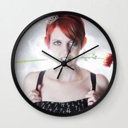 My Little Flower Wall Clock