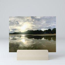 Glass Beach Sunrise Panorama Mini Art Print