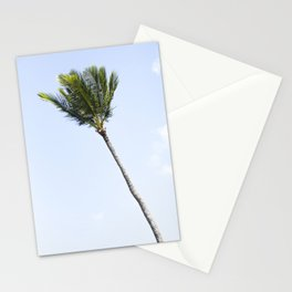 Palm tree party of one Stationery Cards