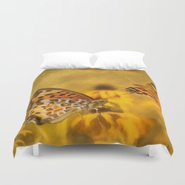 Echoes of Nature Duvet Cover