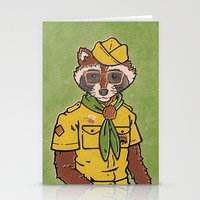 sam smith Stationery Cards featuring Sam by Derek Eads