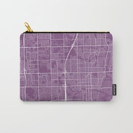 Fort Lauderdale Map, USA - Purple Carry-All Pouch