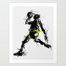 Anti gravity Art Print