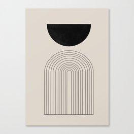 Arch, geometric modern art Canvas Print