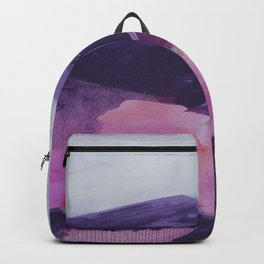 Roses Aren't Red 2 - Contemporary Abstract Landscape Backpack