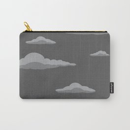 Cloudscape - Black Carry-All Pouch
