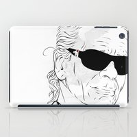 karl iPad Cases featuring Oh, Karl by Pablo Garcia