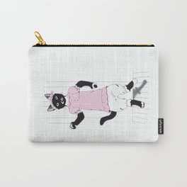 Sophie the Polydactyl Puppet Carry-All Pouch
