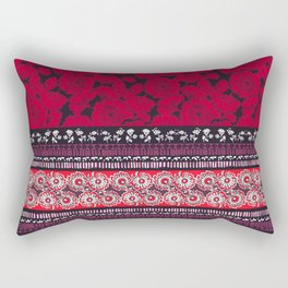 Folkstripe Rectangular Pillow