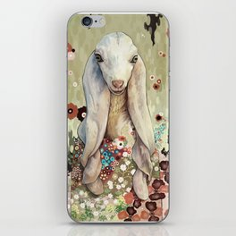 A Goat of Refinement iPhone Skin