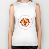 lebron Biker Tanks featuring Cavaliers All In C by DeBUM