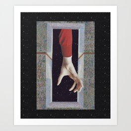 ...Reach Out.... Art Print