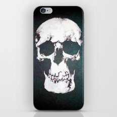 Sherlock Why Do You Have a Skull on Your Wall? iPhone & iPod Skin