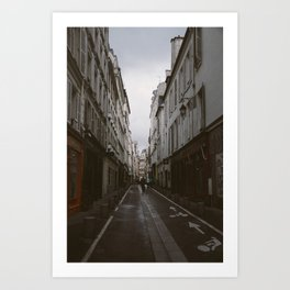 The Act of Flâneur Art Print