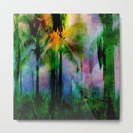 Tropical Sunset 2 Metal Print