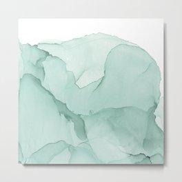 Pale abstract splash Metal Print