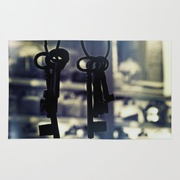 Hanging Keys-Dark Rug