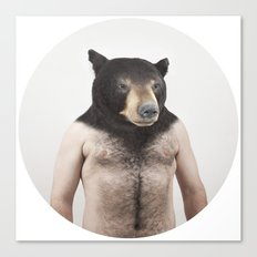 Therianthrope - Bear Canvas Print