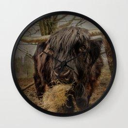 Coo De Grass Wall Clock
