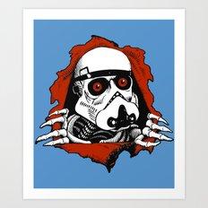 Stormripper  Art Print