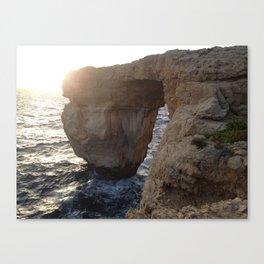 The Azure Window of Dwejra Canvas Print