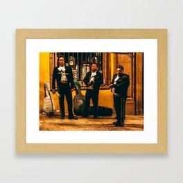 ¡La Musica No Mas! Framed Art Print