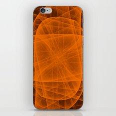 Eternal Rounded Cross in Orange Brown iPhone & iPod Skin