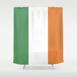 Ireland: Irish Flag Shower Curtain