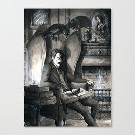 The Raven (version2) Canvas Print