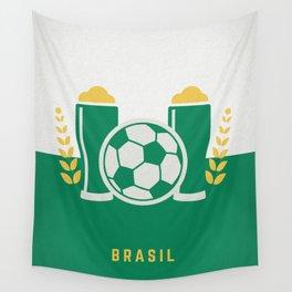 cerveja e futebol Wall Tapestry