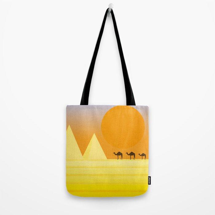 In the desert... Tote Bag