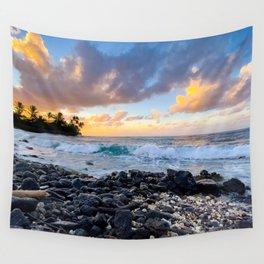 Nature Landscape, Scenic, Poipu, Kauai, Hawaii Wall Tapestry
