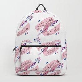 Bisexual Pride Arrow Backpack