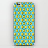 gamer iPhone & iPod Skins featuring Gamer Cred by Jango Snow
