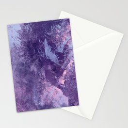 Purple texture Stationery Cards