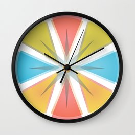 The colors circle Wall Clock
