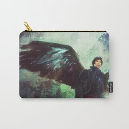 The Winged Detective Carry-All Pouch