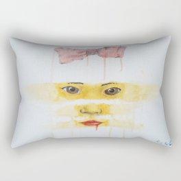 always looking, always learning Rectangular Pillow
