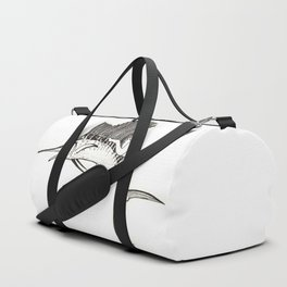 Surfing the fish Duffle Bag